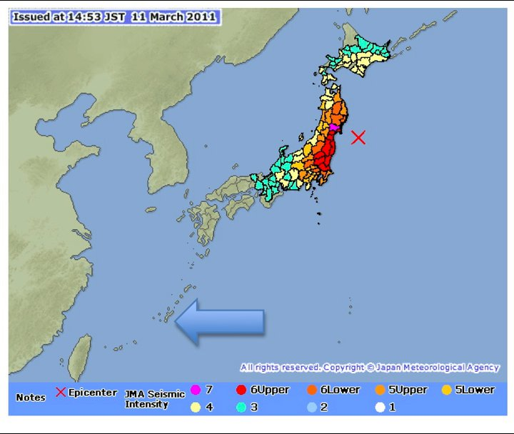 Okinawa vs earthquake