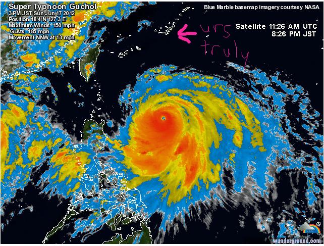 Typhoon Guchol